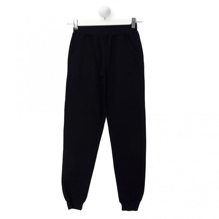 Μαύρο Παντελόνι Φούτερ Για Αγόρι 7-14 Ετών