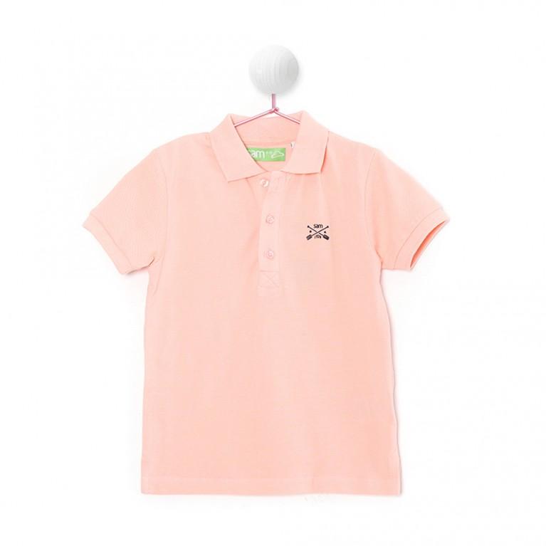 Σομόν Μπλούζα Για Αγόρι 7-14 Ετών