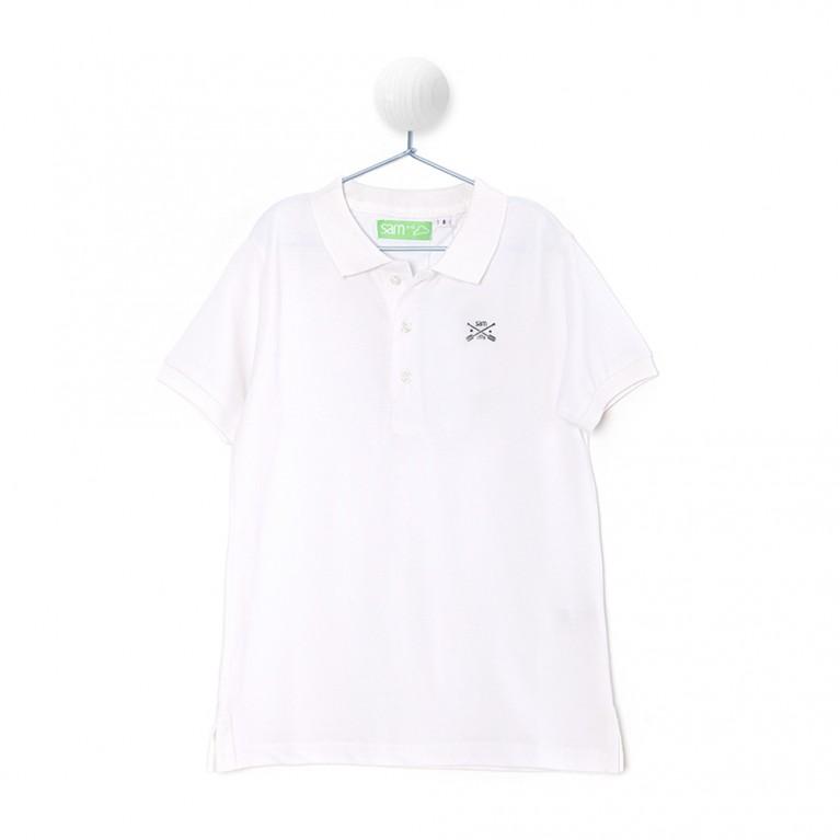 Λευκή Μπλούζα Για Αγόρι 7-14 Ετών