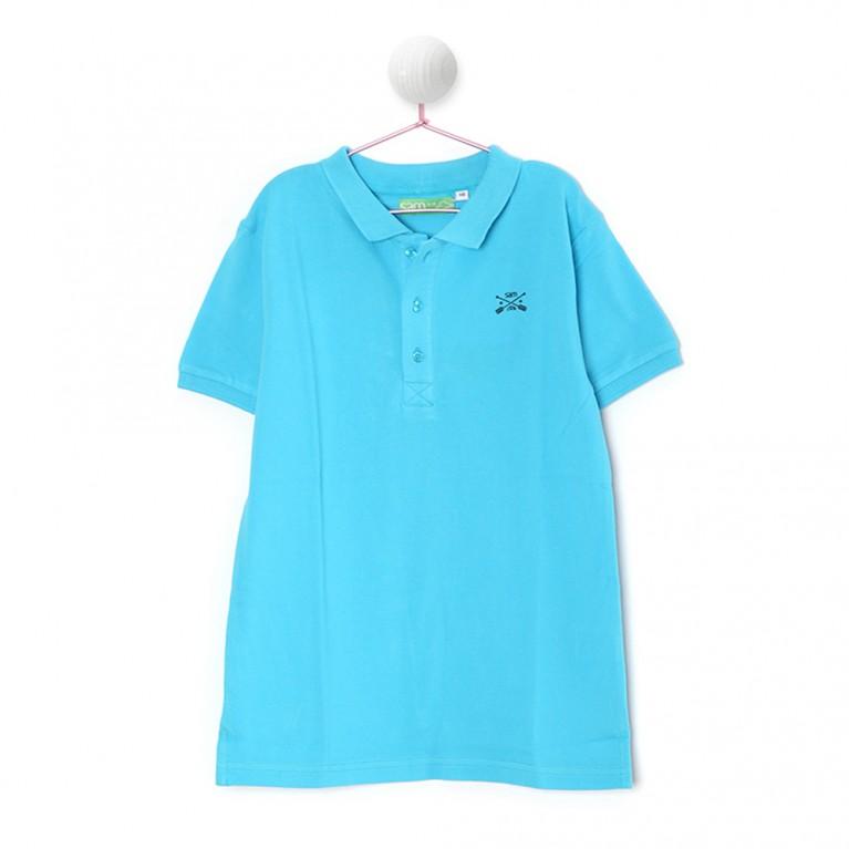 Μπλε Μπλούζα Για Αγόρι 7-14 Ετών