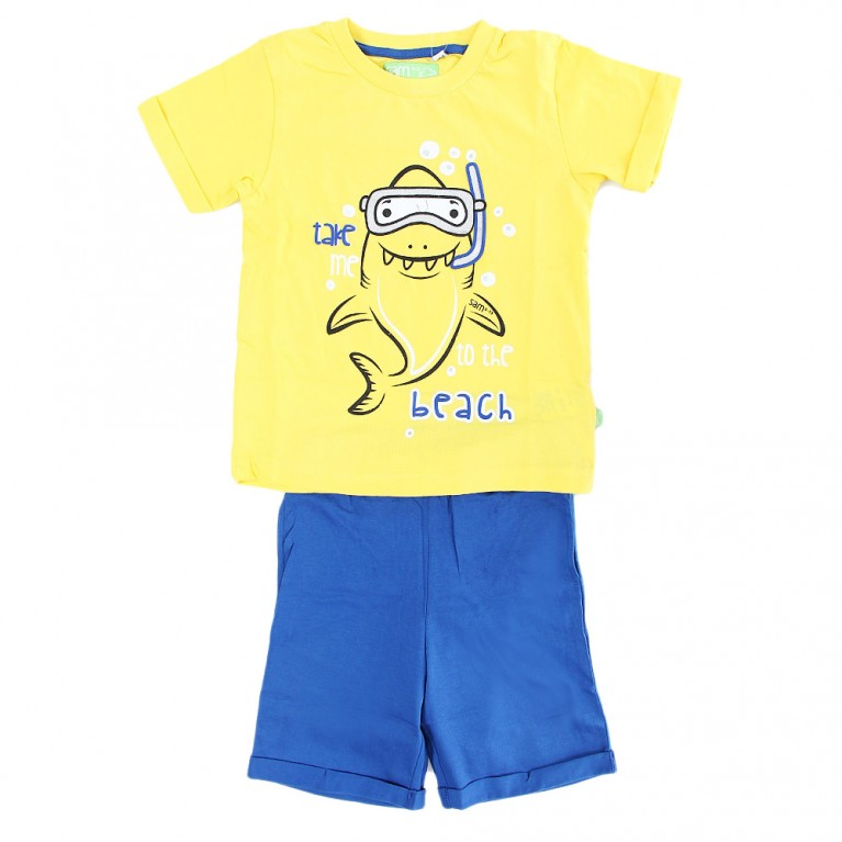 Κίτρινο Σετ Για Αγόρι 2-6 Ετών