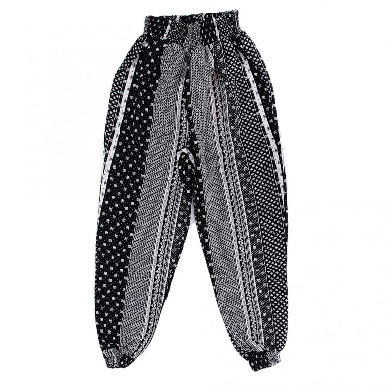 Μαύρο Παντελόνι Για Κορίτσι 7-14 Ετών