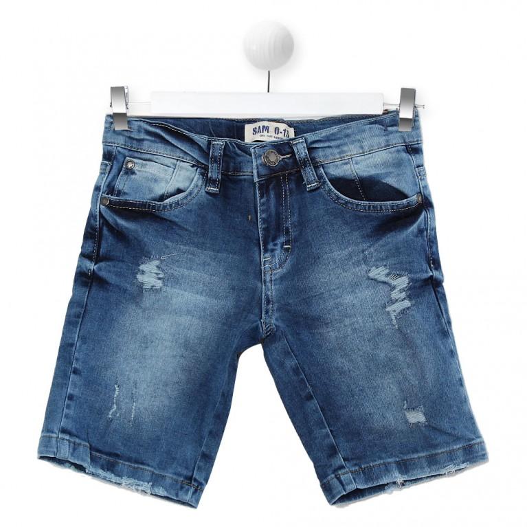 Τζιν Κοντό παντελόνι για Αγόρι 7-14 Ετών