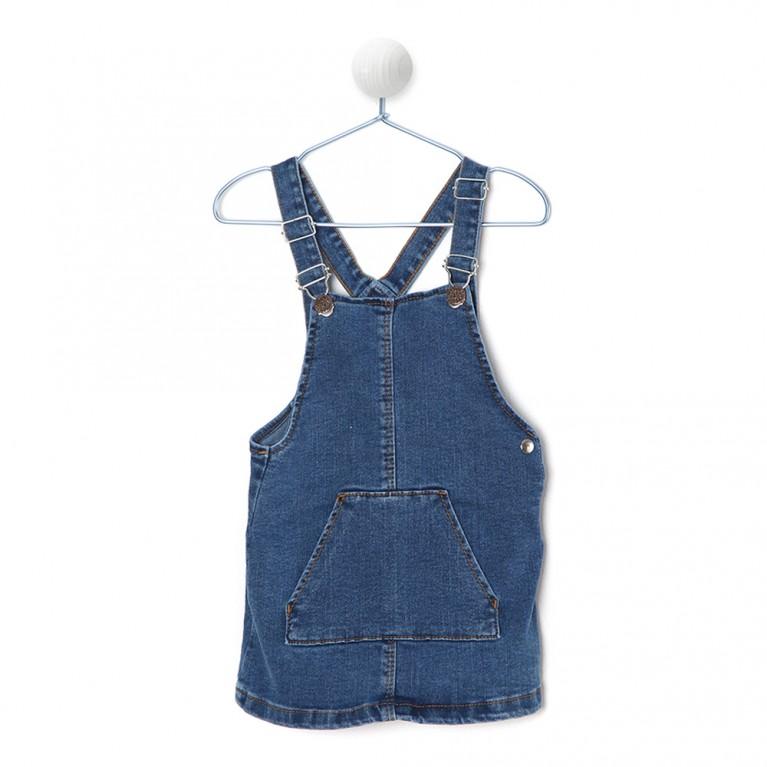 Τζιν Φόρεμα Για Κορίτσι 2-6 Ετών