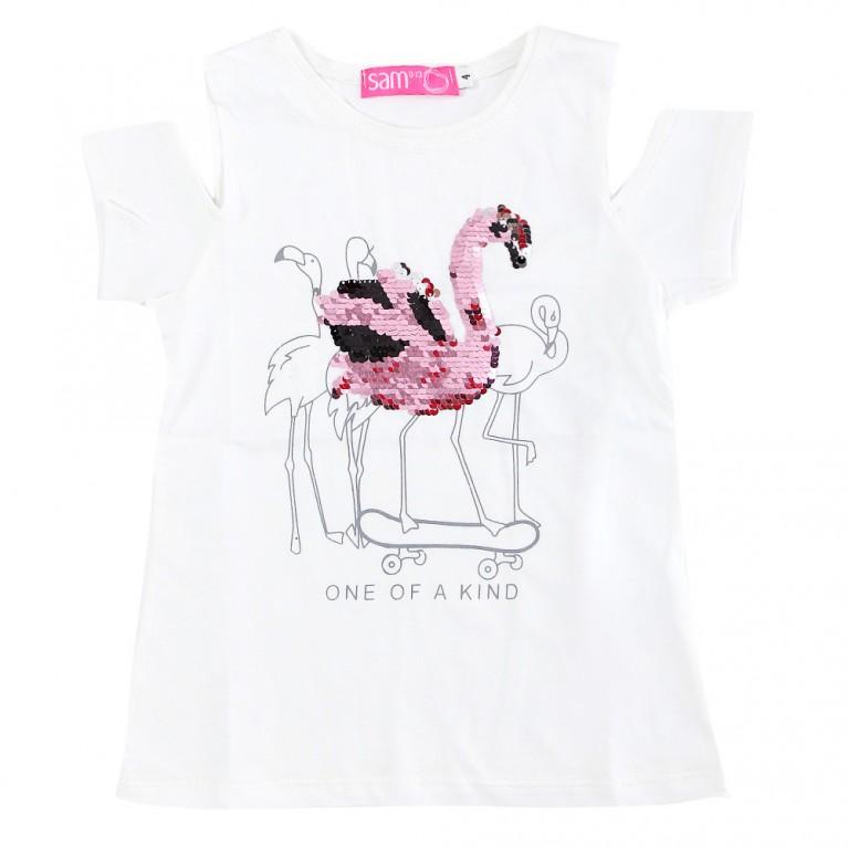 Λευκή Μπλούζα Για Κορίτσι 2-6 Ετών