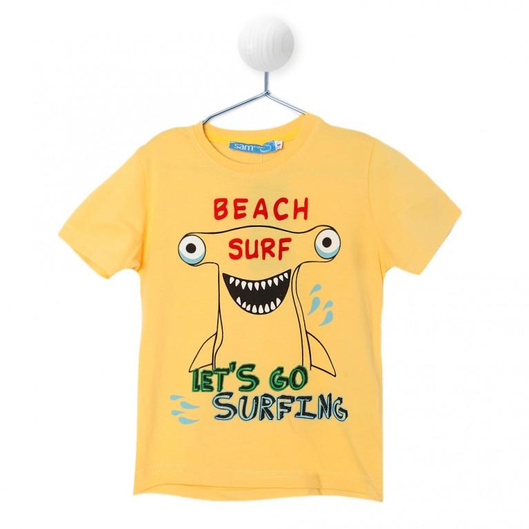 Κίτρινη Μπλούζα Για Αγόρι 2-6 Ετών