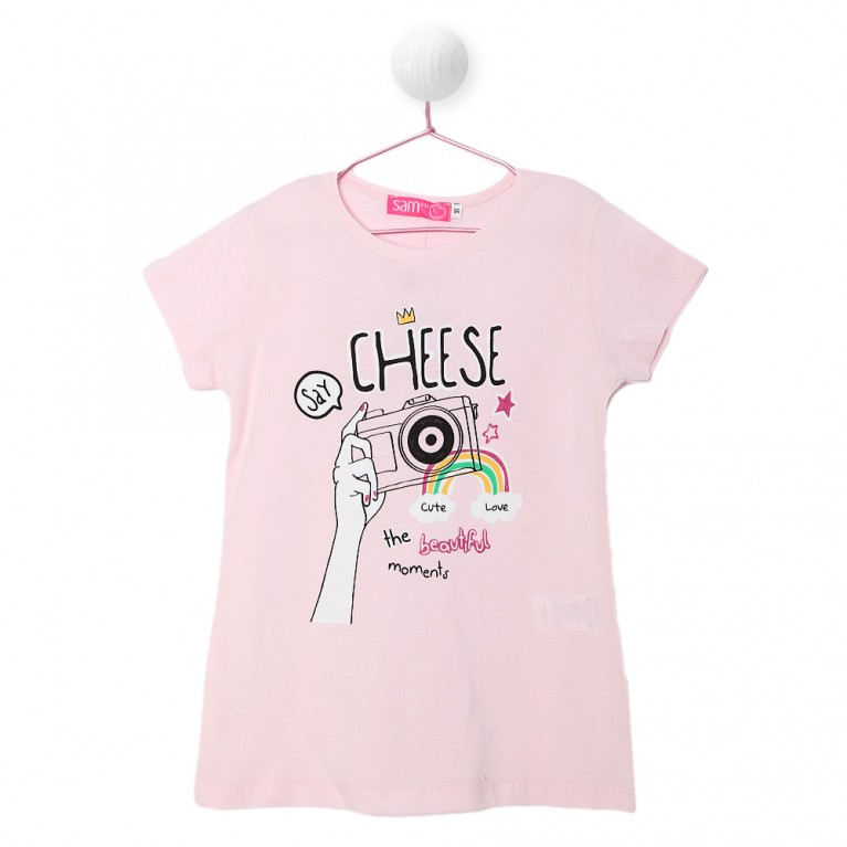 Ροζ Μπλούζα Για Κορίτσι 7-14 Ετών