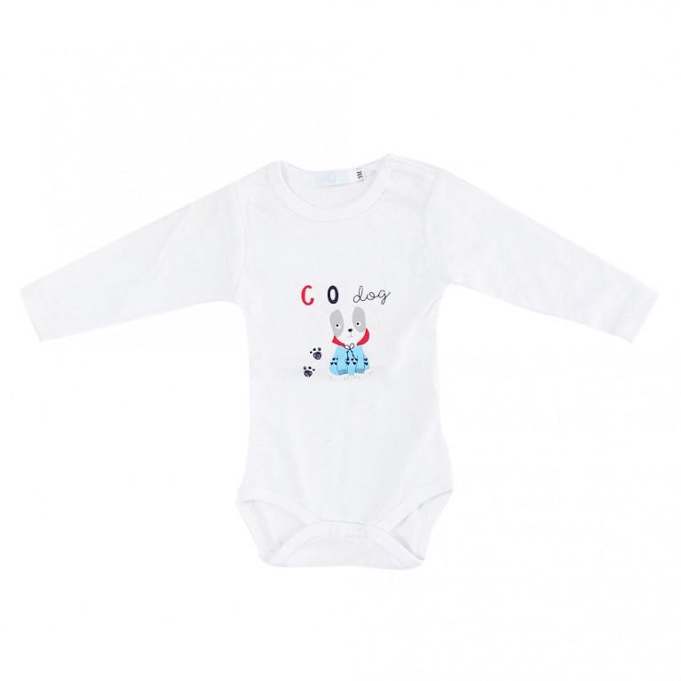Λευκή Μπλούζα Για Αγόρι Βρεφικό