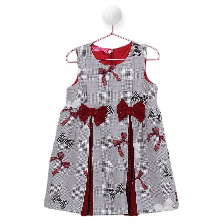 Εμπριμέ Φόρεμα για Κορίτσι 2-6 Eτών