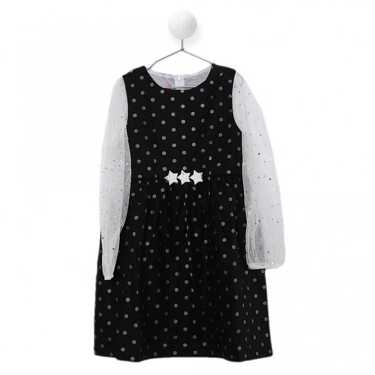 Μαύρο Φόρεμα για Κορίτσι 7-14 Eτών
