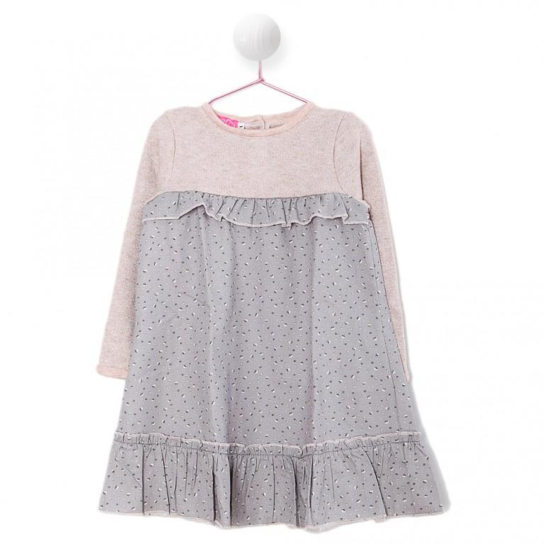 Ροζ Φόρεμα για Κορίτσι 2-6 Eτών