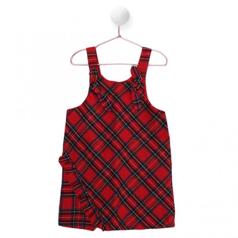 Κοκκίνο Φόρεμα για Κορίτσι 2-6 Eτών