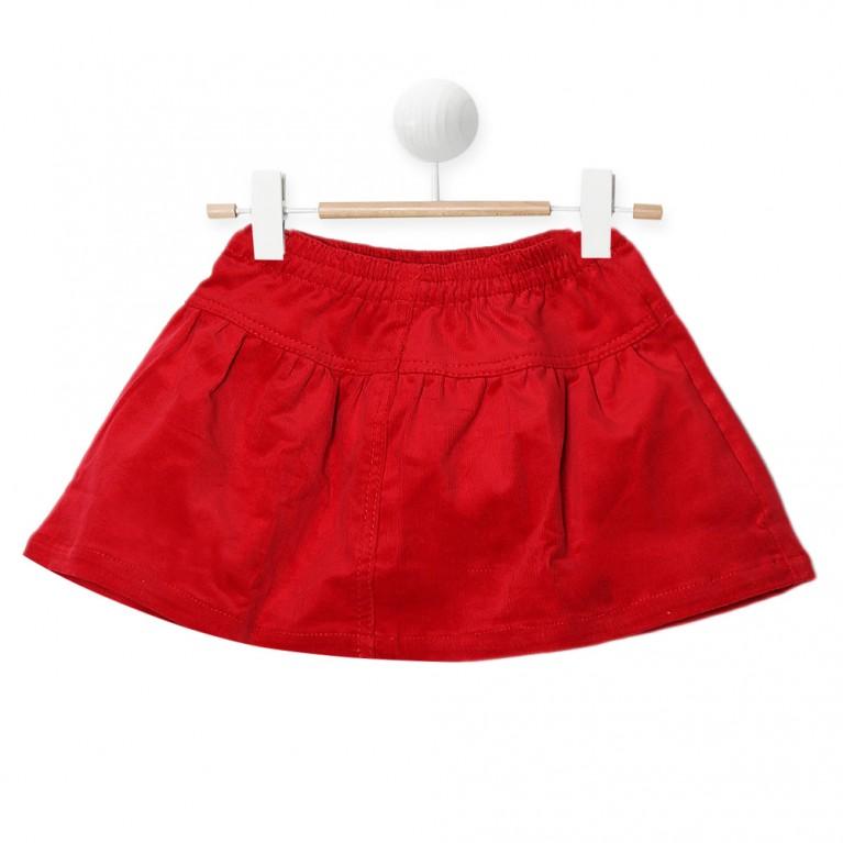 Κόκκινη Φούστα για Κορίτσι 2-6 Ετών
