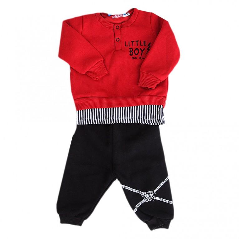 Κόκκινη Φόρμα για Αγόρι Βρεφικό