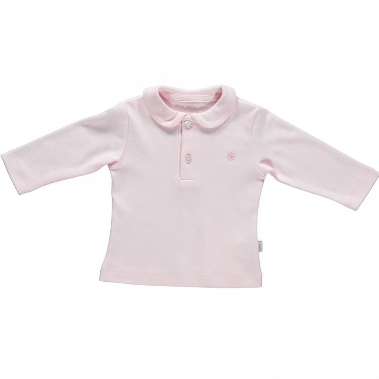 Ροζ Μπλούζα για Κορίτσι Βρεφικό