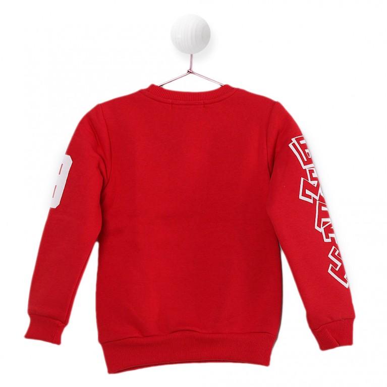 Κοκκίνο Μπλούζα για Αγόρι 2-6 Eτών