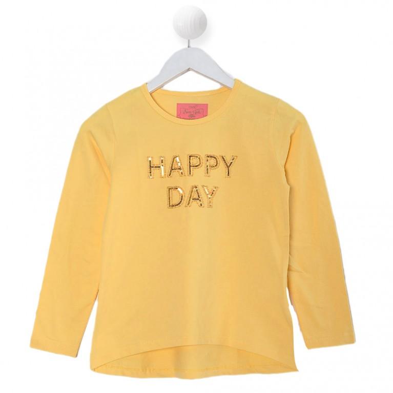 Κίτρινη Μπλούζα για Κορίτσι 7-14 Eτών