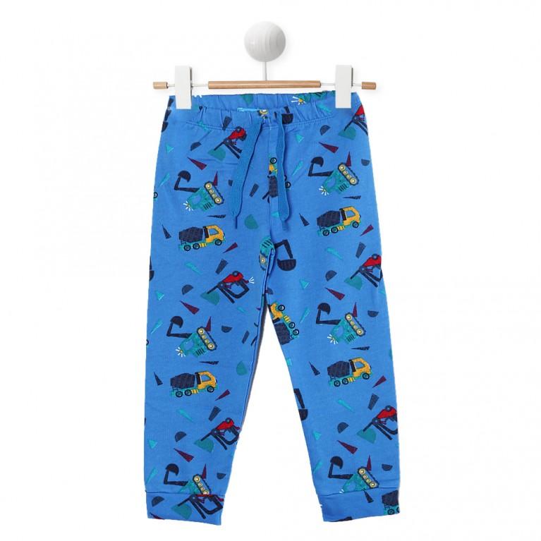 Μπλε Αθλητικό παντελόνι για Αγόρι 2-6 Ετών