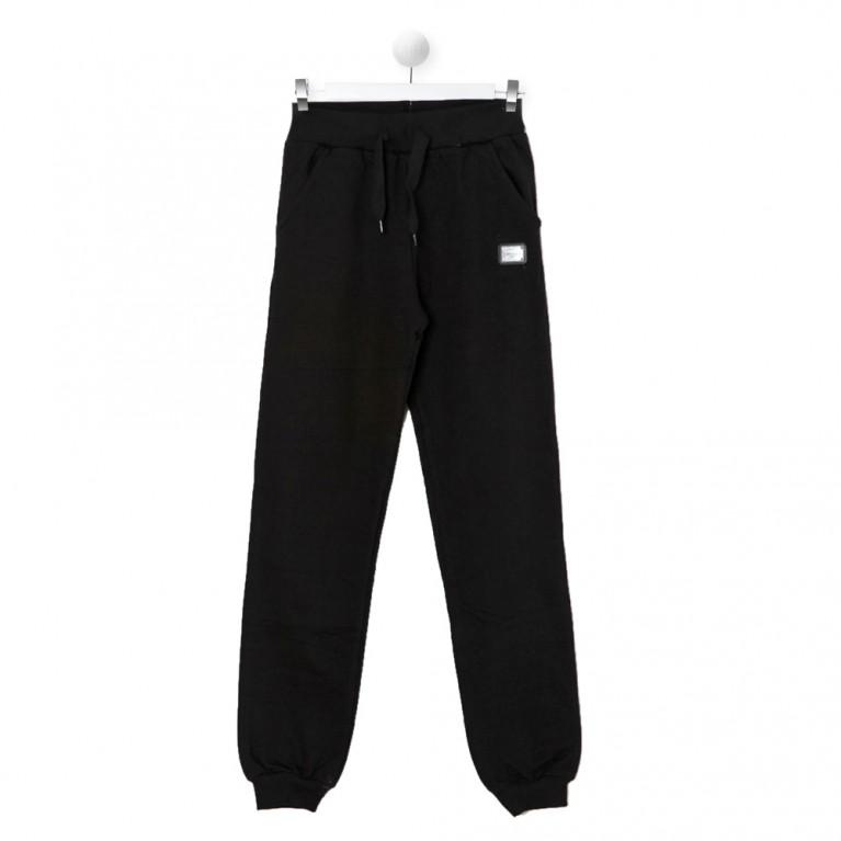 Μαύρο Αθλητικό παντελόνι για Αγόρι 7-14 Ετών