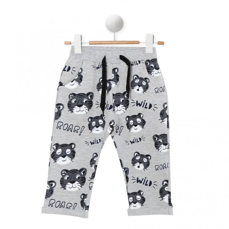 γκρι Αθλητικό παντελόνι για Αγόρι 2-6 Ετών