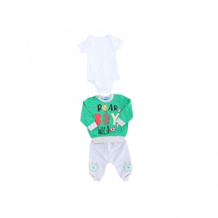 Πράσινο Σετ-Φόρμα για Αγόρι Βρεφικό