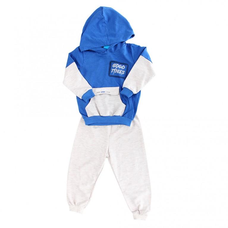 Μπλε Φόρμα για Αγόρι 2-6 Ετών