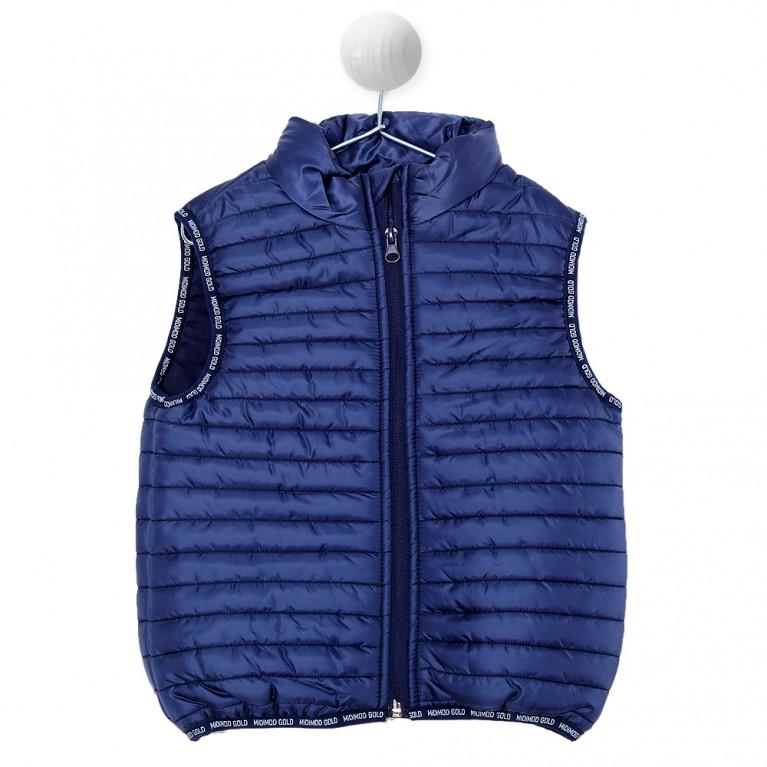 Μπλε Αμάνικο μπουφάν για Αγόρι 2-6 Ετών